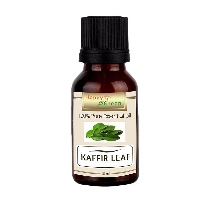HAPPY GREEN Kaffir Leaf Essential Oil [10 mL]