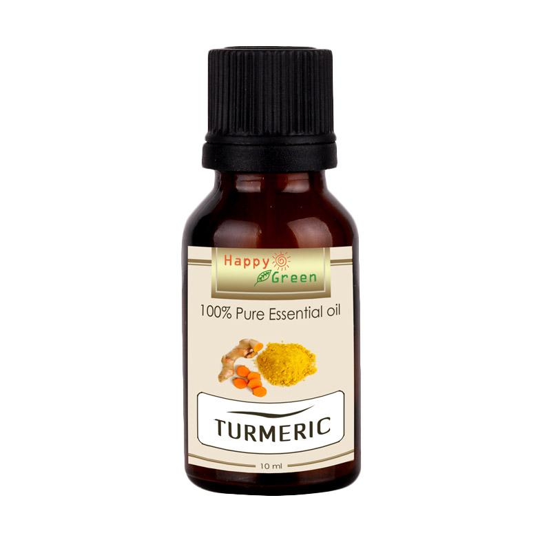 HAPPY GREEN Turmeric Essential Oil Minyak Kunyit [10 mL]