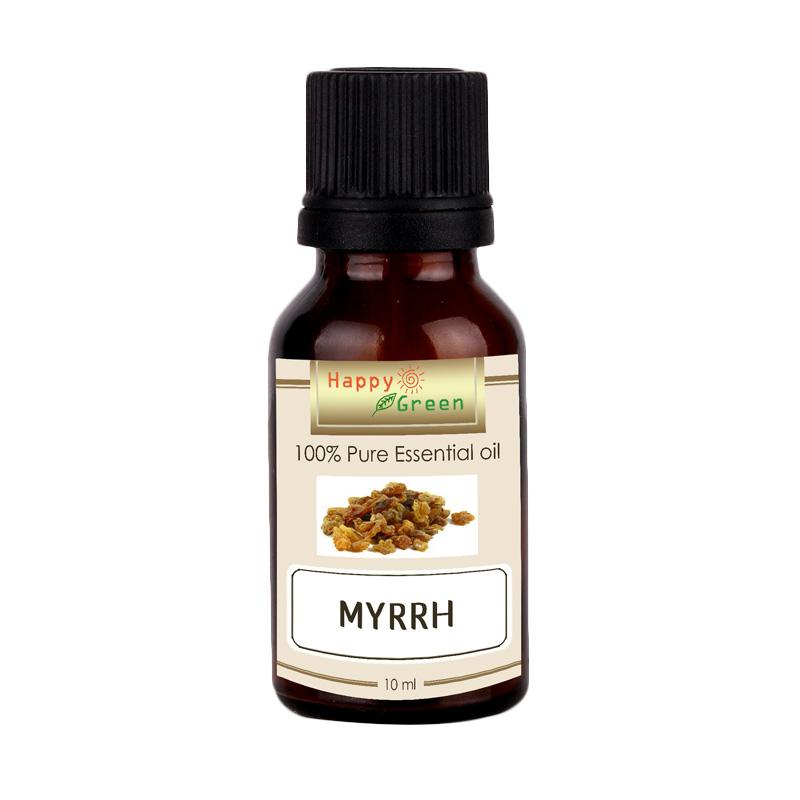 Happy Green Myrrh Essential Oil Minyak Mur