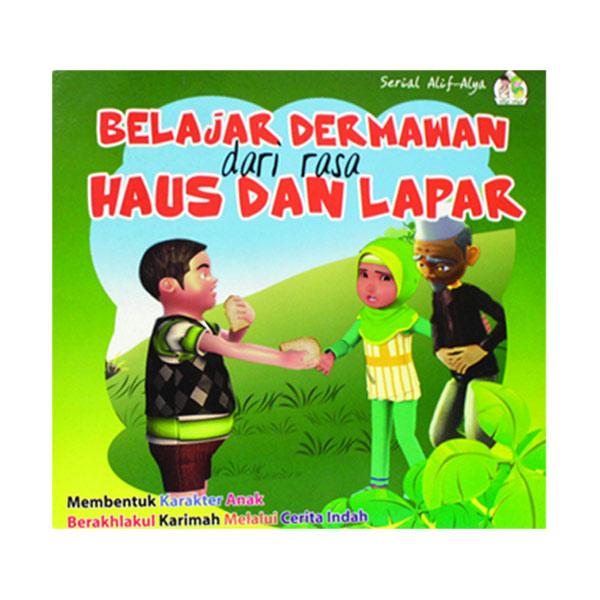 Happy Holy Kids Belajar Dermawan dari Rasa Haus dan Lapar Buku Anak