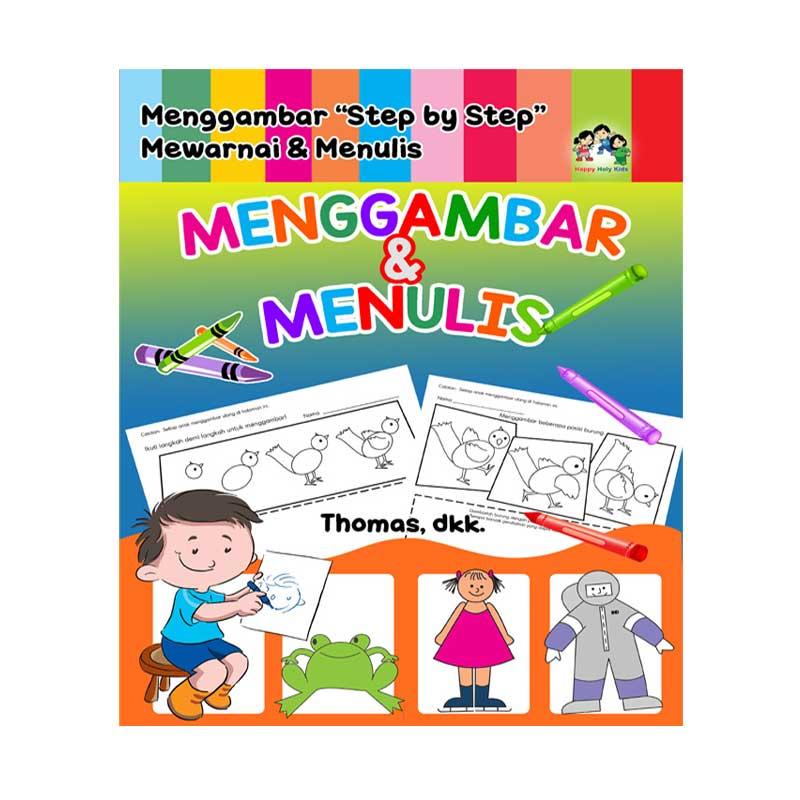 Happy Holy Kids Buku Menggambar dan Menulis