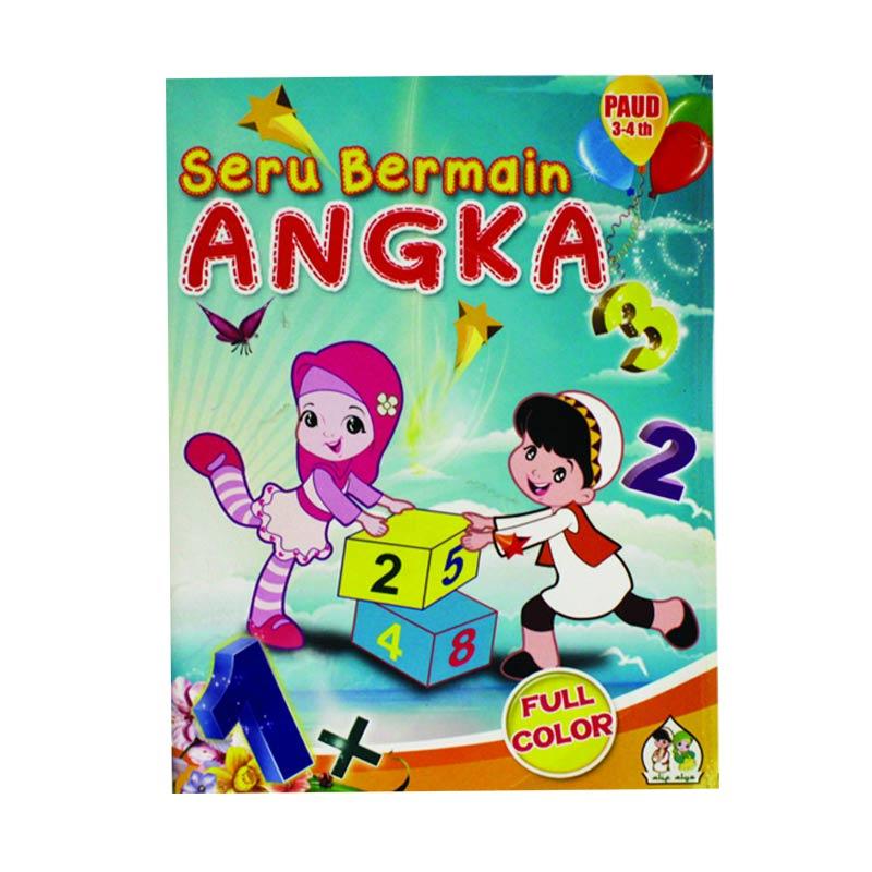 Seru Bermain Angka Buku Anak