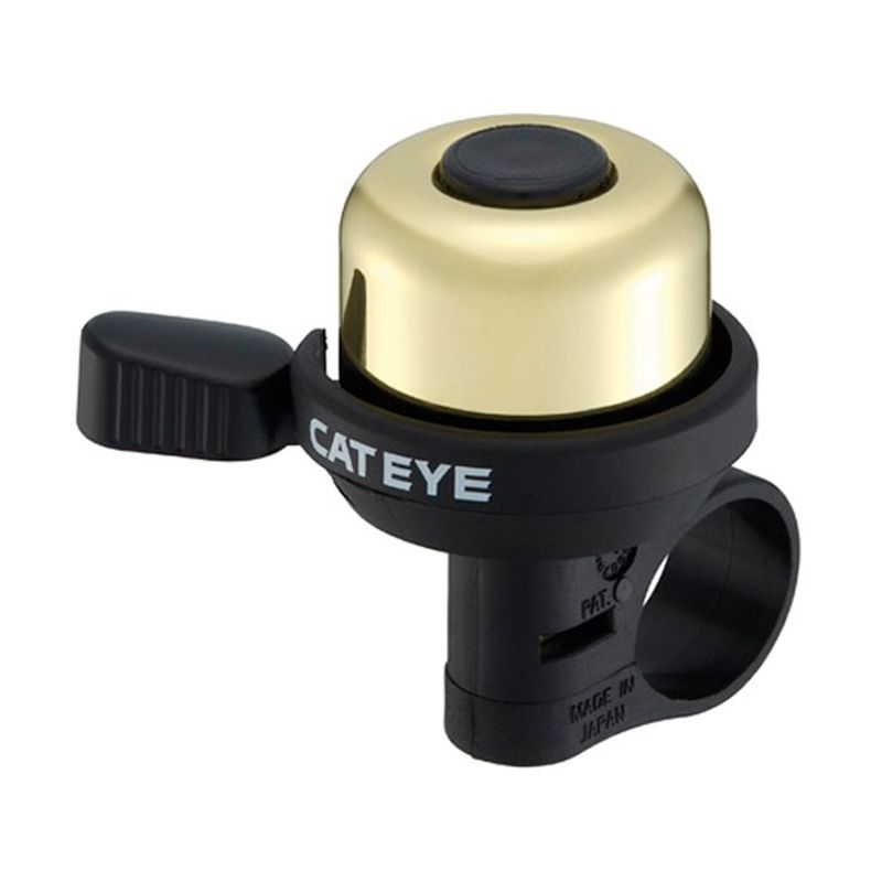 Cateye PB 1000 Black List Gold Bel Sepeda