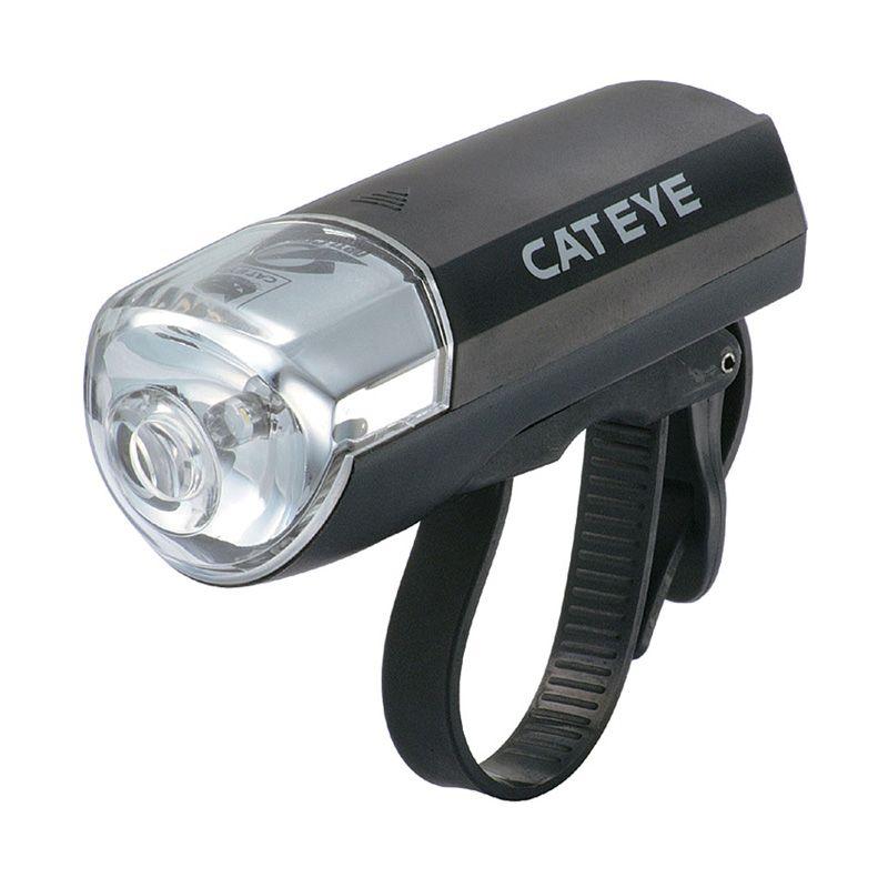 CATEYE EL-120 Black Headlight Lampu Sepeda