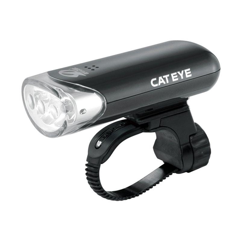 Cateye EL-135 Hitam Lampu Depan Sepeda