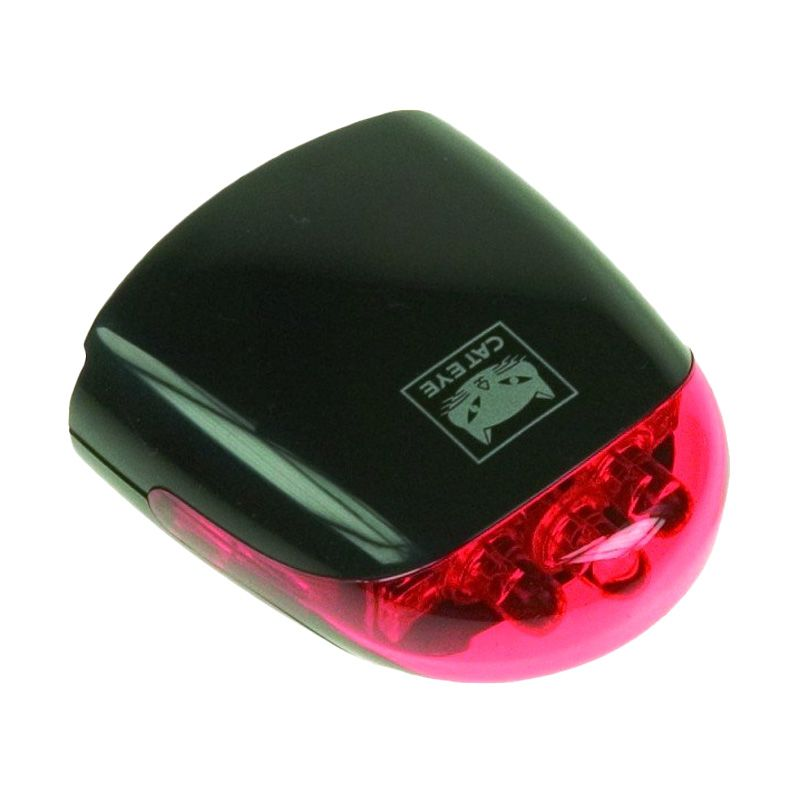 CATEYE LD-270-R Black LED Lampu Sepeda
