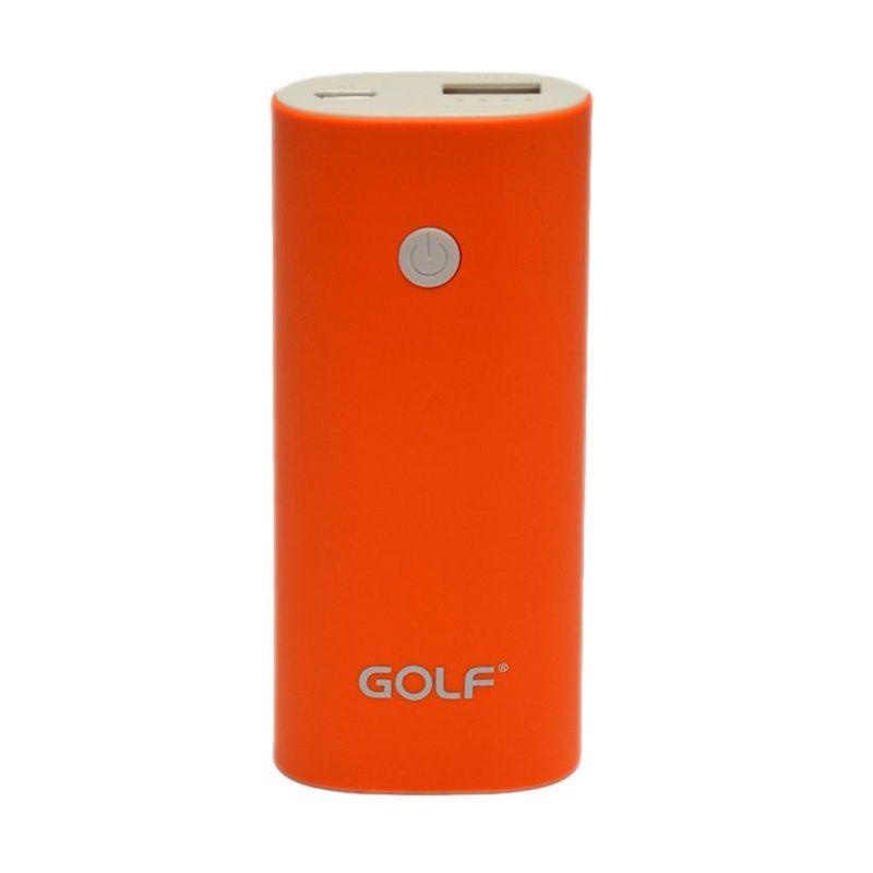GOLF GF-208 Oranye Powerbank [5200 mAh]