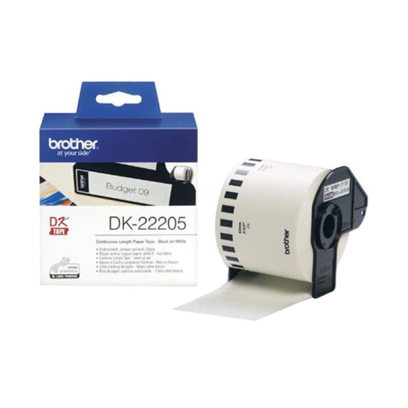 Brother Label Tape Continuous Length Paper DK-22205 Pita Printer [62 mm]