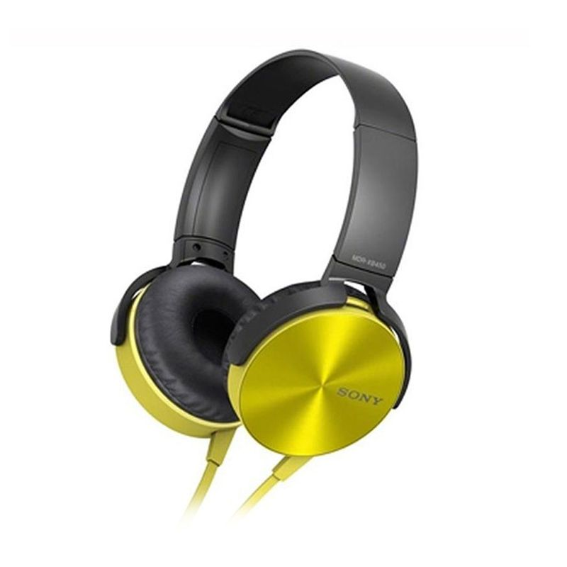 Sony MDR-XB450AP Kuning Headphone