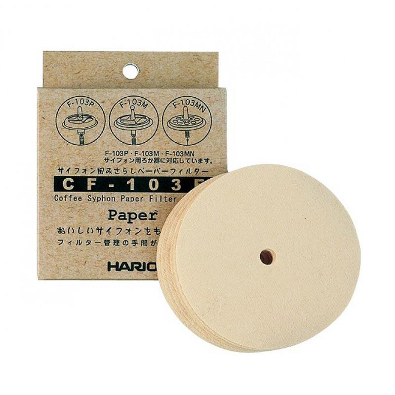Hario Syphon Paper Filters [100 pcs/Box]