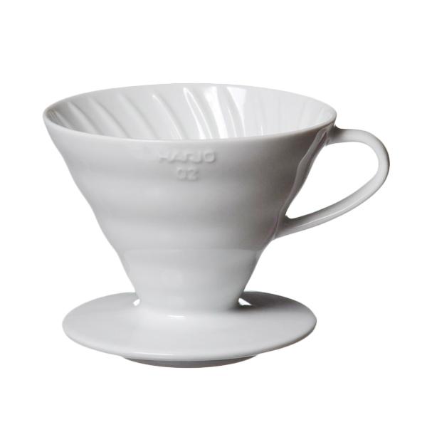 Hario V60 Ceramic 02 Dripper - White