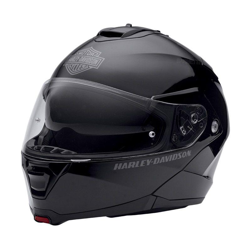 Harley Davidson Capstone Sun Shield Matte Black Helm Modular