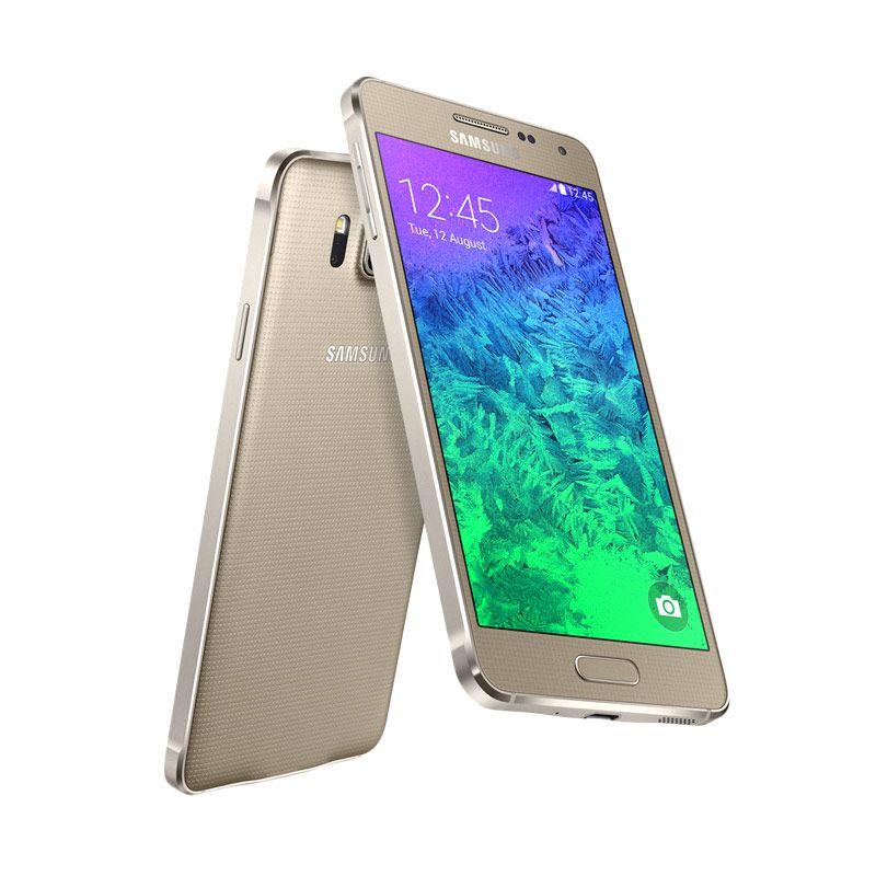 Samsung Galaxy Alpha SM-G850F Gold Smartphone
