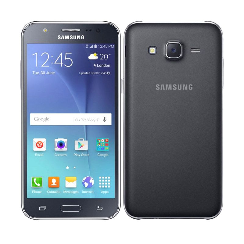 Samsung Galaxy J5 SM-J500GZKDXID Black Smartphone