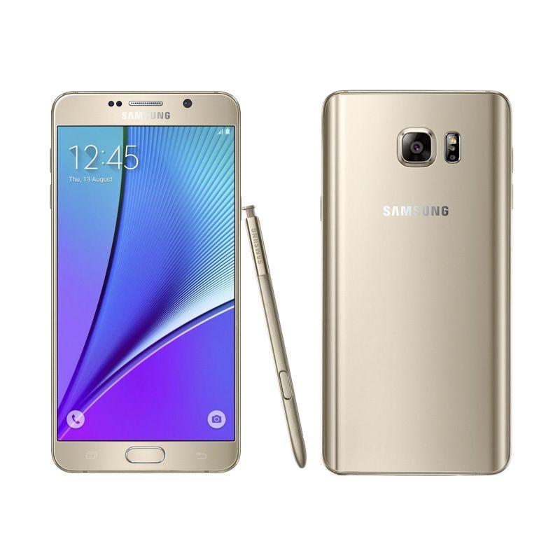 Samsung Galaxy Note 5 SM-N9208ZDUXID Gold Smartphone