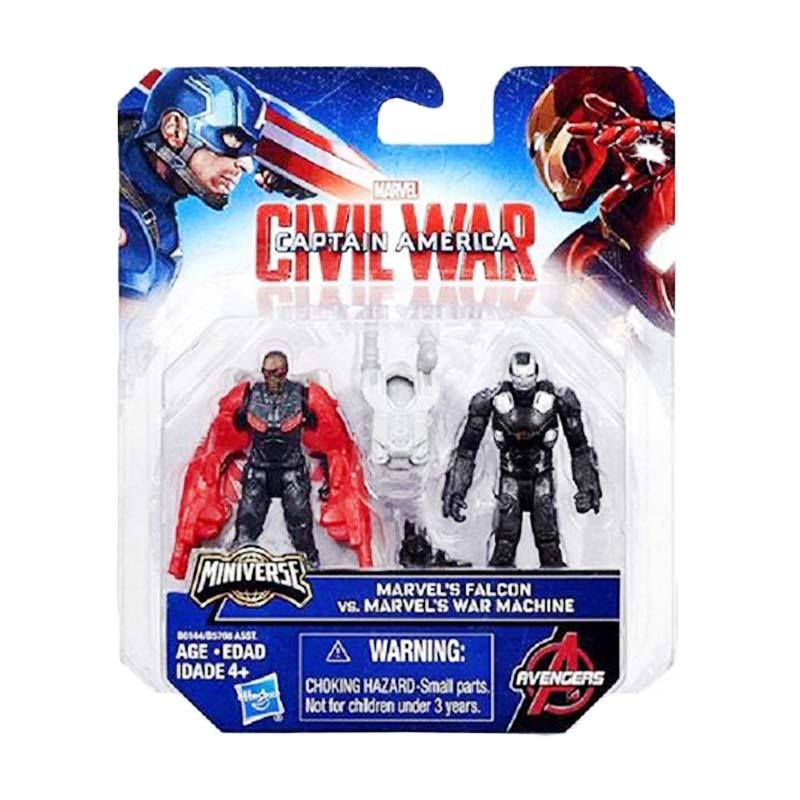 Hasbro Captain America Civil War Miniverse Marvel's Falcon Vs Marvel's War Machine Action Figure