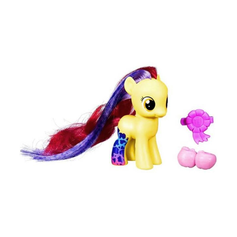 Hasbro My Little Pony Wild Rainbow Apple Bloom Mainan Anak