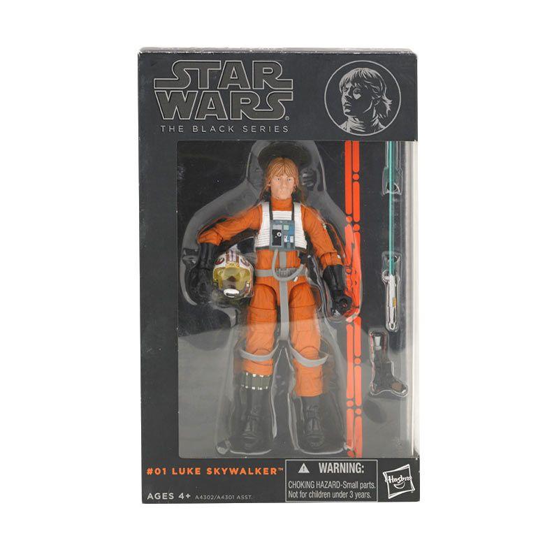 Hasbro Star Wars 6 Inch Figure Luke Sky Walker Mainan Anak