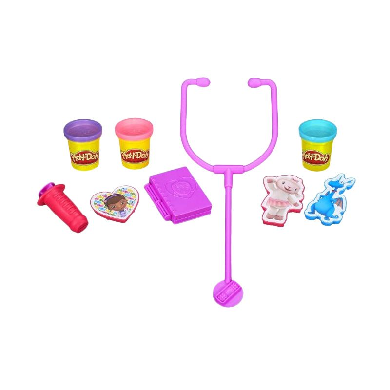 Play Doh Doctor Kit Featuring Doc McStuffins Mainan Anak