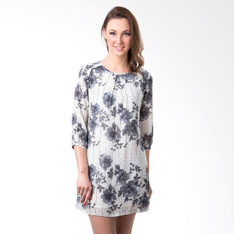 Puricia Ladies 349 Cream Mini Dress