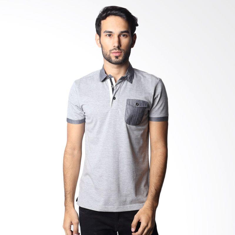 OTO ONO 476A Grey Polo Shirt