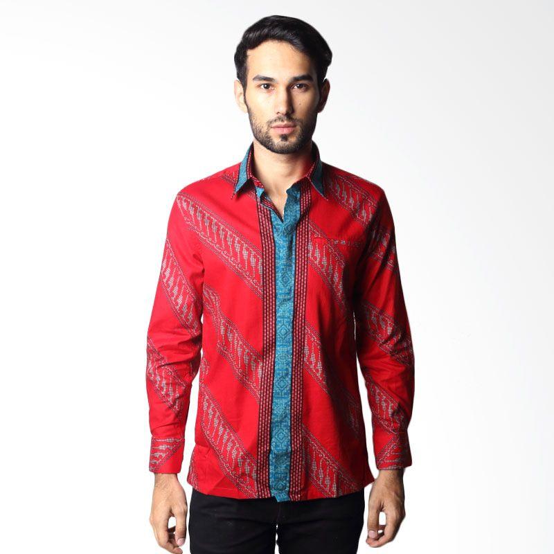 Semata Wayang Batik Print 555 Red Batik Pria