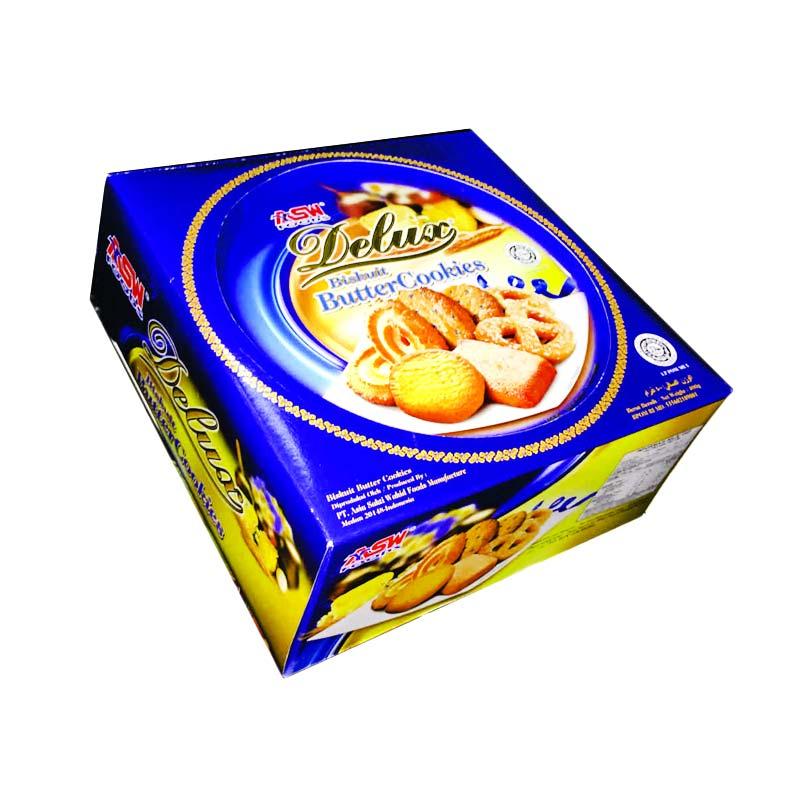 Ulasan Terbaru Hatari Delux Butter Cookies Biskuit Kaleng Lebaran 400 G Dan Harganya