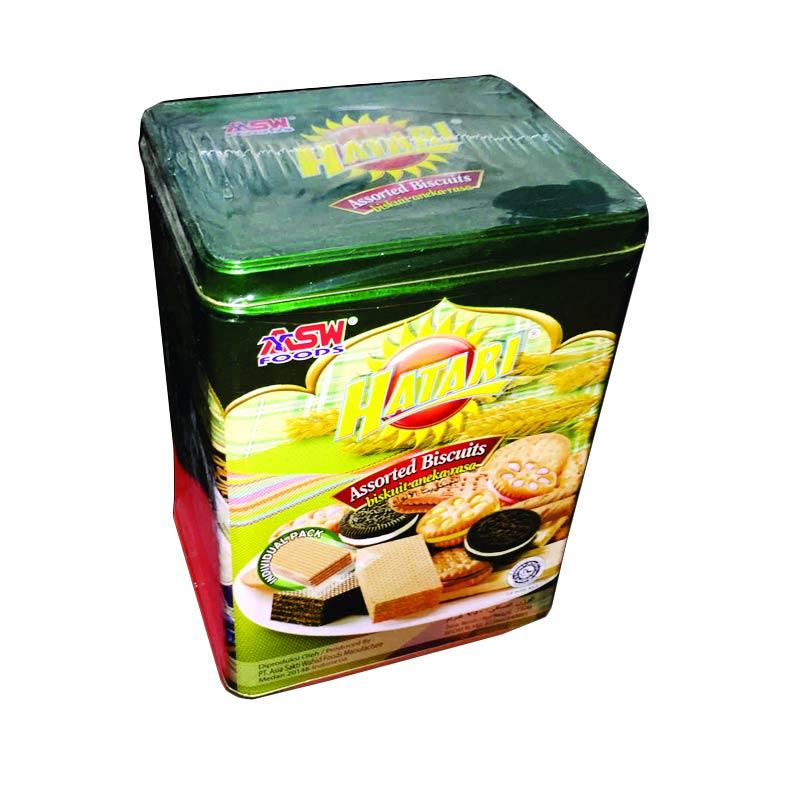 Jual Hatari Assorted Biscuit Tin Biskuit Kaleng Lebaran 6x750 G
