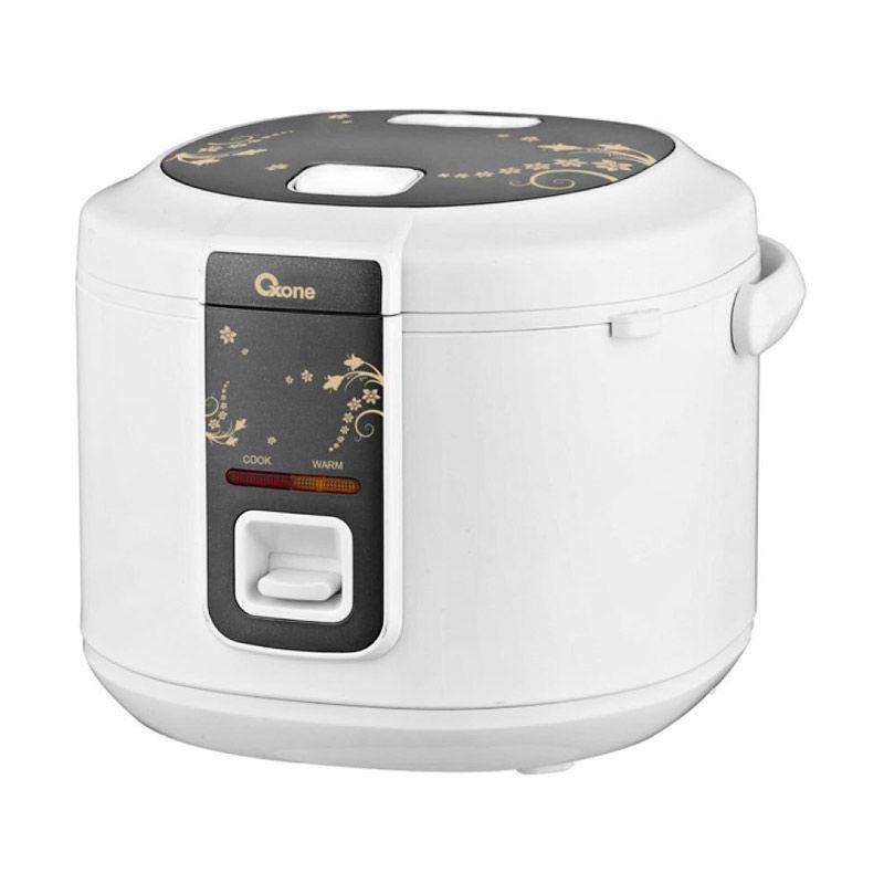 Oxone OX-817N - Rice Cooker Oxone 0.8Lt - Abu-abu