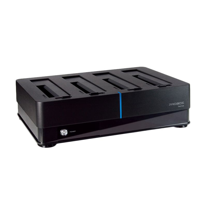 harga Probox 4 Bay 2.5 dan 3.5 SATA HDD Super Speed Docking Station [USB 3.0] Blibli.com