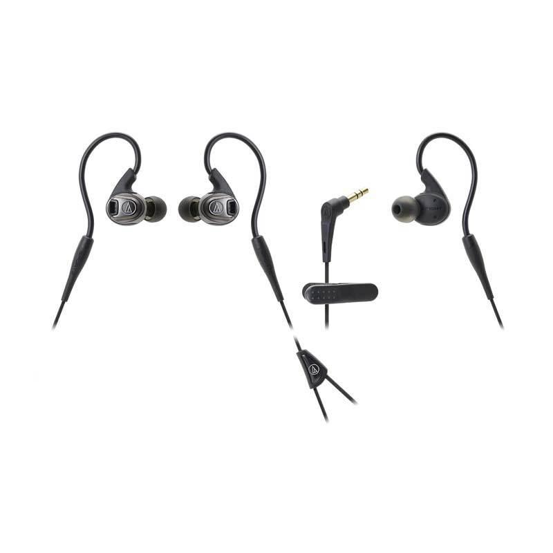 Audio-Technica ATH-SPORT3 Hitam Headset
