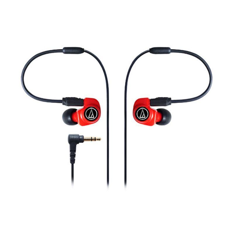 Audio Technica Dual Symphonic Driver IM70 Merah Earphone