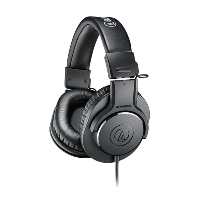 harga Audio Technica Over The Ear M20x Hitam Headphone Blibli.com