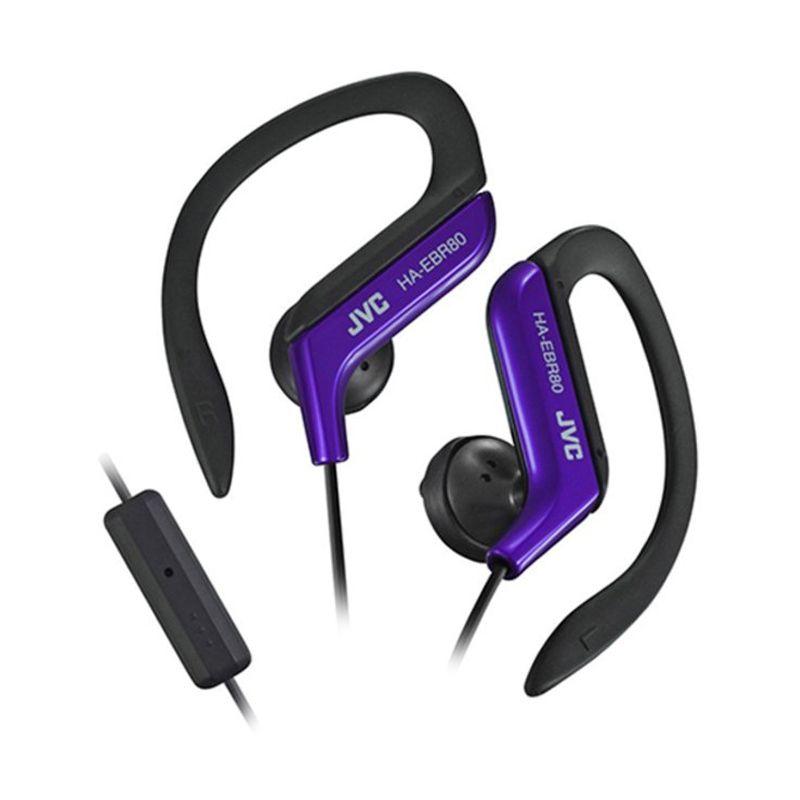JVC Sport Stereo HA-EBR80 Biru Headphone