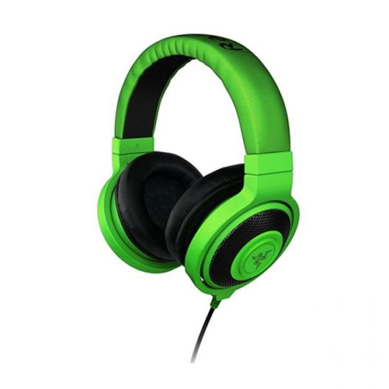 Razer Kraken Analog Hijau Gaming Headphone