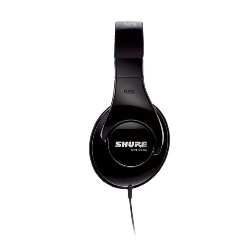 Shure Professional Quality SRH240A Hitam Headphone