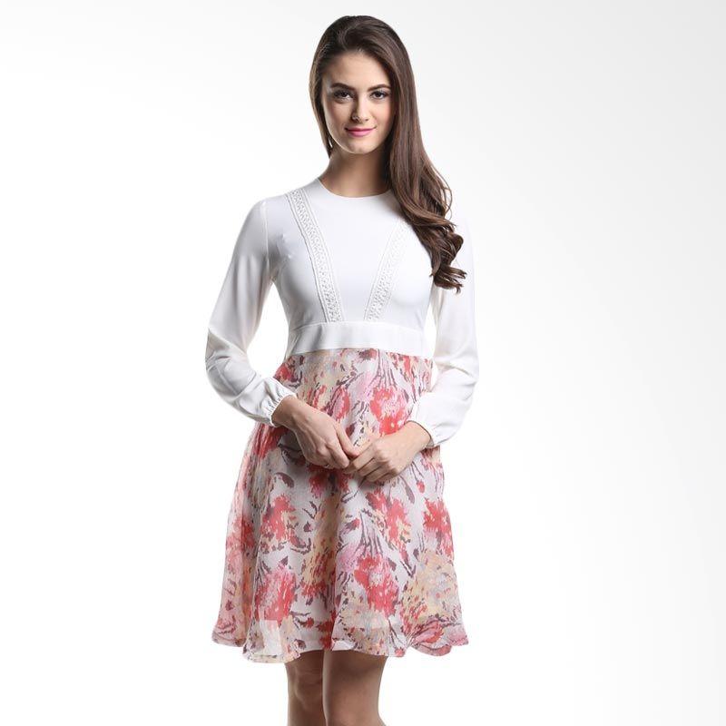 Heart And Feel Lumia 1114.D2 Pink Midi Dress