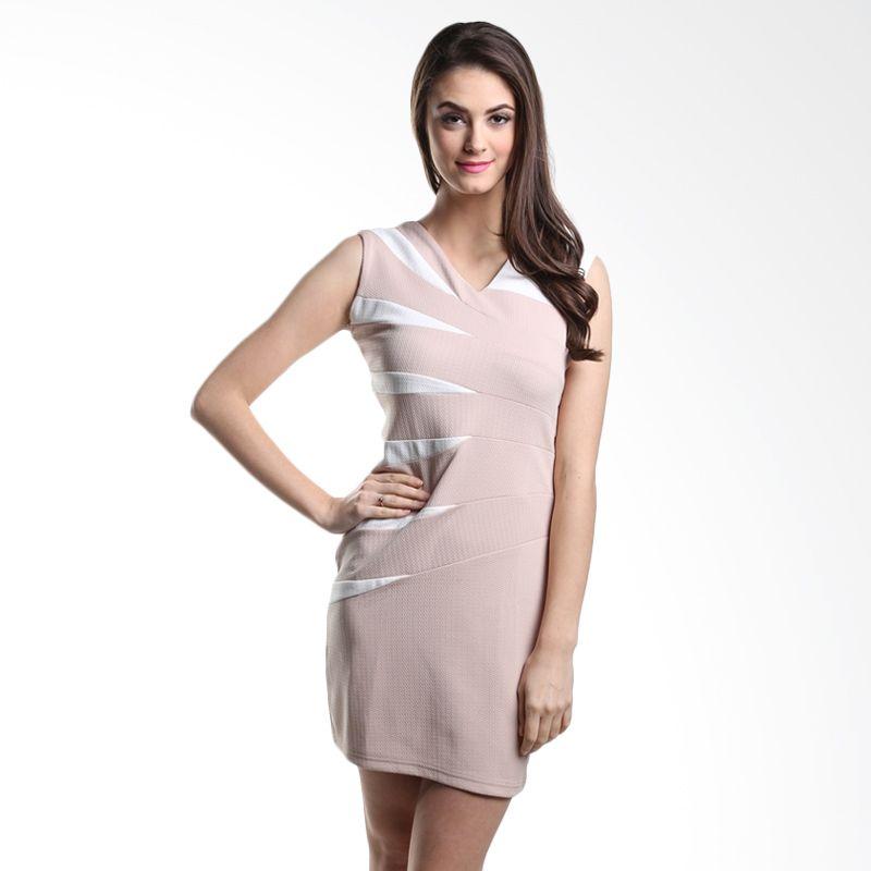 Heart And Feel Marcia 1045.D1 Brown Mini Dress