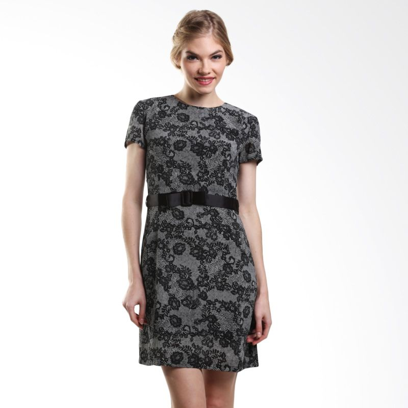 Heart And Feel Nindy 1065.D Black Mini Dress
