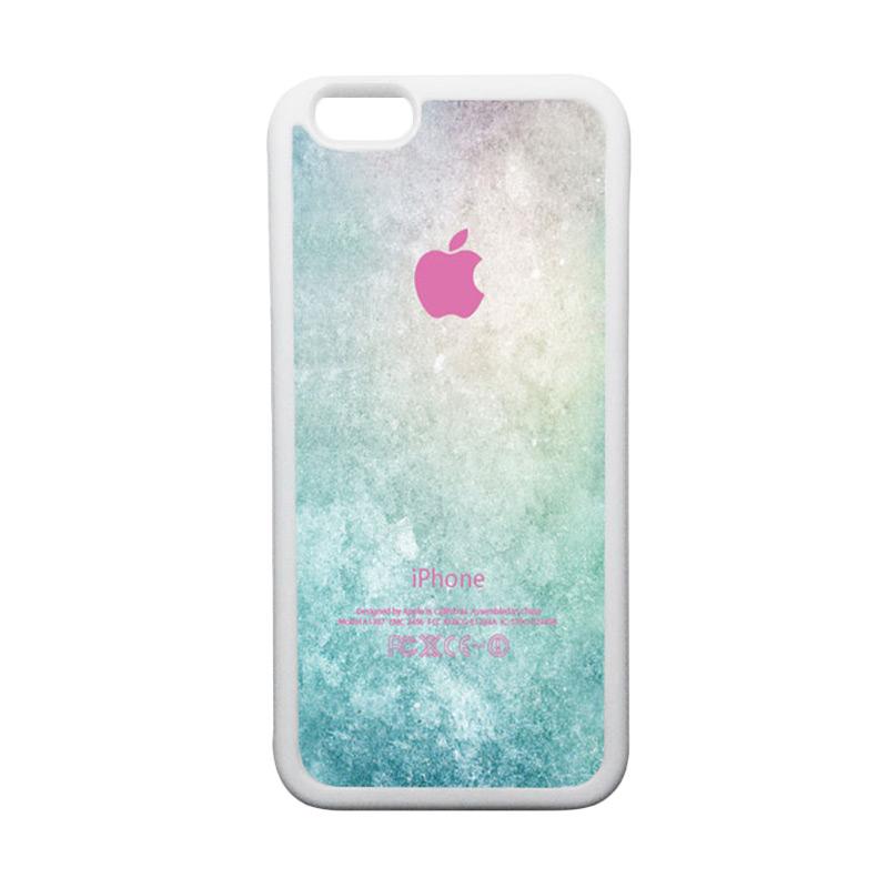 HEAVENCASE Apple 01 TPU Bumper Putih Softcase Casing for iPhone 6 or iPhone 6S