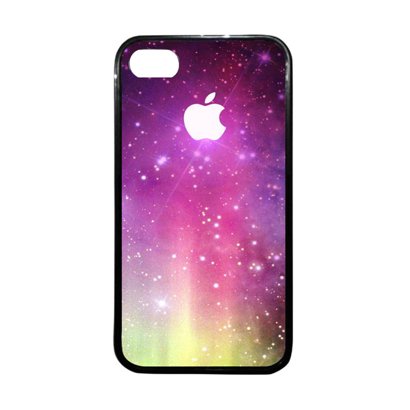 HEAVENCASE Apple 02 Hitam Casing for iPhone 4 or iPhone 4S