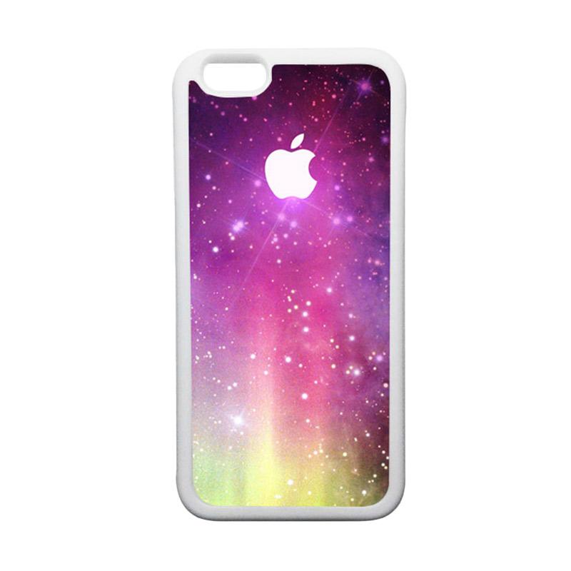 HEAVENCASE Apple 02 TPU Bumper Putih Softcase Casing for iPhone 6 or iPhone 6S