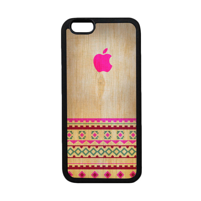 HEAVENCASE Apple 03 Hitam Casing for iPhone 6 or iPhone 6s