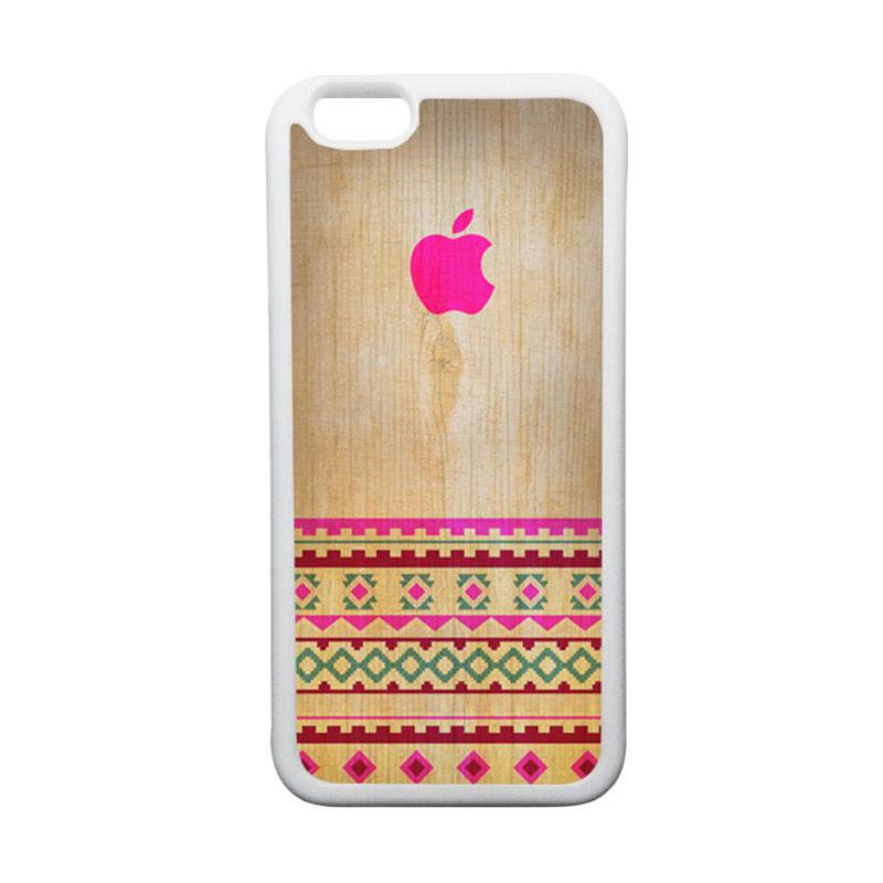 HEAVENCASE Apple 03 TPU Bumper Putih Softcase Casing for iPhone 6 or iPhone 6S