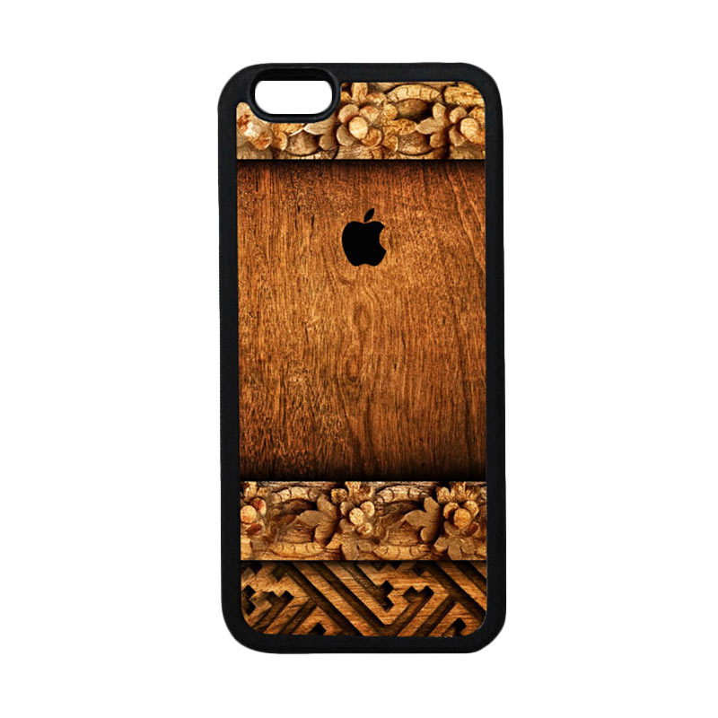 HEAVENCASE Apple 04 Black Softcase Casing for iPhone 6 or iPhone 6s