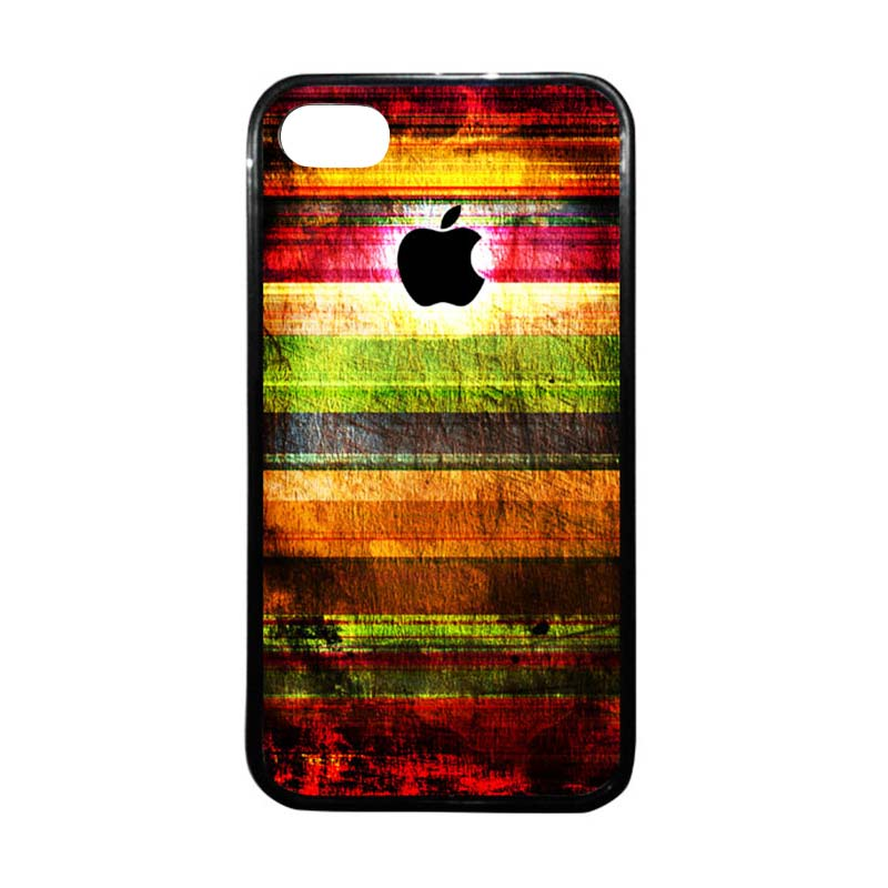 HEAVENCASE Apple 06 Hitam Casing for iPhone 4 or iPhone 4s