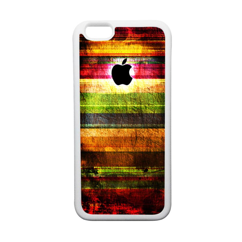 HEAVENCASE Apple 06 TPU Bumper Putih Softcase Casing for iPhone 6 or iPhone 6S
