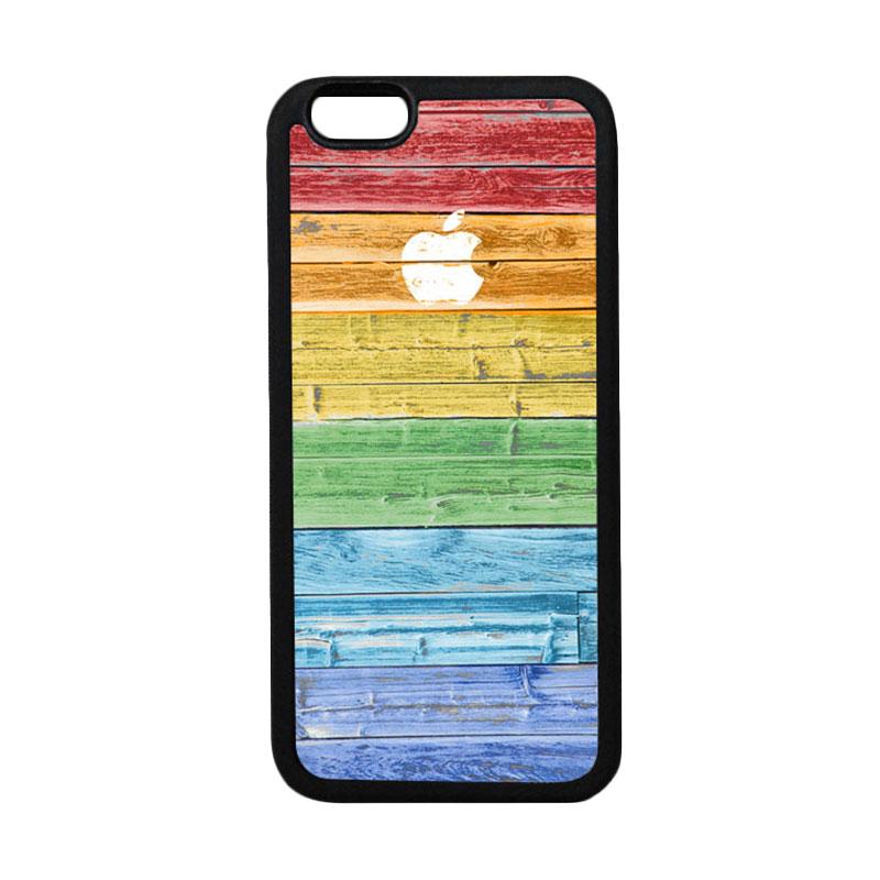 HEAVENCASE Apple 07 Black Softcase Casing for iPhone 6 Plus or iPhone 6s Plus