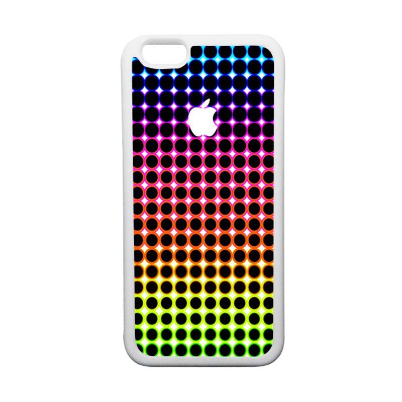 HEAVENCASE Apple 08 TPU Bumper Putih Softcase Casing for iPhone 6 or iPhone 6S