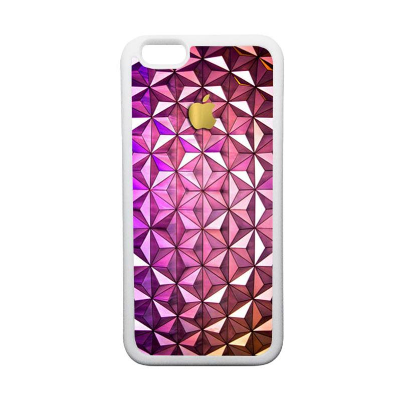 HEAVENCASE Apple 09 TPU Bumper Putih Softcase Casing for iPhone 6 or iPhone 6S